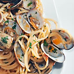 Spaghetti with clams - Restaurant Capri